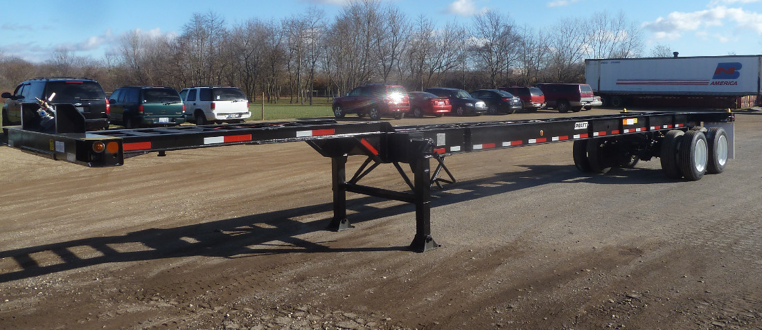 Container Chassis Landing Gear : Gn container chassis tank